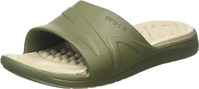 Crocs Unisex Adult's Reviva Slide Open Toe Sandals