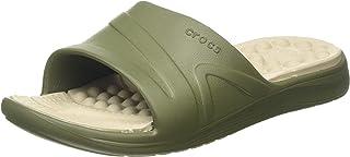 Crocs Reviva Slide, Sandalias de Punta Descubierta Hombre