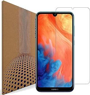 VLP kompatibel med Huawei Y7 2019 glasskärmskydd, repfri fingeravtrycksbeständig 98 % transparens härdat glas skärmskydd f...