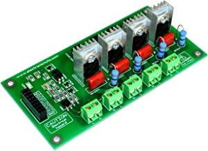 4 Channel V2 AC 500W-1000W Programmable Light Dimmer Module Controller Board Arduino Raspberry MIC Compatible 50/60hz Phase Control