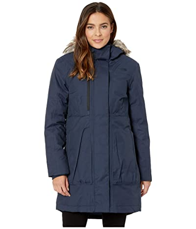 The North Face Downtown Parka (Urban Navy) Women