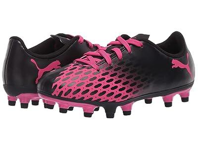 Puma Kids Spirit III FG Soccer (Toddler/Little Kid/Big Kid) (Fuchsia Purple/Black) Girls Shoes