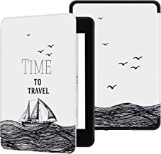Ayotu Water-Safe Case for Kindle Paperwhite 2018 - PU Leather Smart Cover with Auto Wake/Sleep - Fits Amazon The Latest Kindle Paperwhite Leather Cover (10th Generation-2018),K10 The Time to Travel