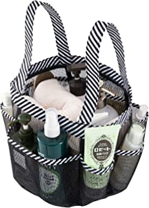 okroo Shower Caddy Tote, Shower Basket Mesh,Quick Dry Bathroom Organizer Bag,Must Have for Dorm Life,Perfect for College Dorm,Camping, Gym,Trip, Swimming Class