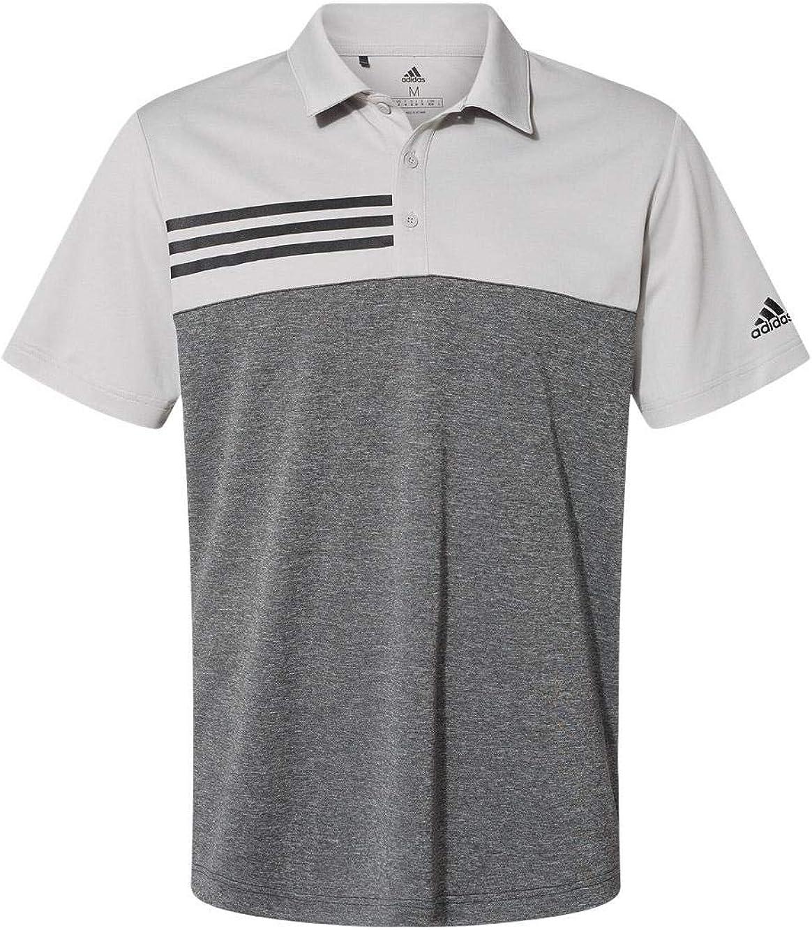 adidas - Heathered Colorblock 3-Stripes 25% OFF A508 Shirt Japan Maker New L Sport