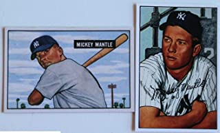 1952 bowman mickey mantle card