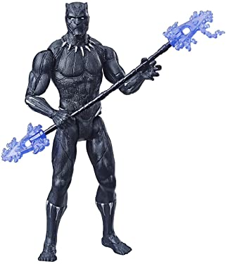 """Avengers Marvel Black Panther 6""""-Scale Marvel Super Hero Action Figure Toy"""