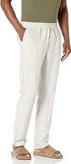 Nautica Men's Classic Fit Drawstring Linen Pant