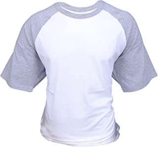 ILTEX Raglan Short Sleeve Baseball Style T-Shirt Adult Casual Wear