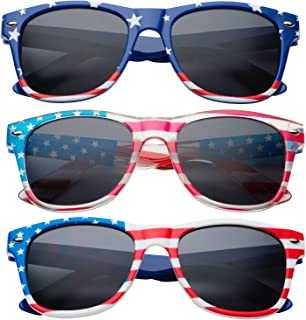 grinderPUNCH Kids American USA Flag Sunglasses for Boys...