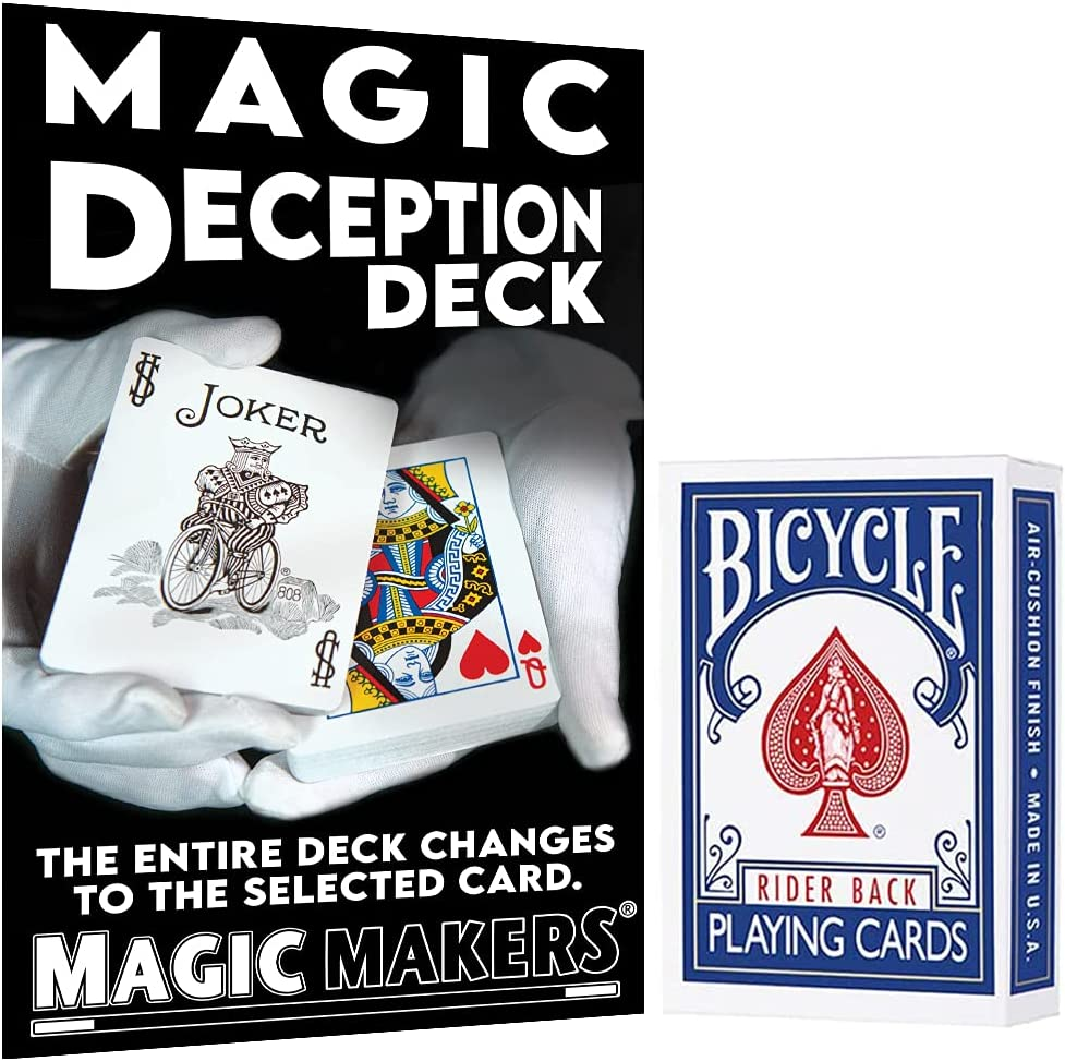 Magic New Shipping Free Shipping Deception Deck - Color Changing by Super-cheap Card Trick