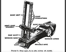 WWII U.S. Army Rifle And Bayonet Field Manuals Combined: M1 Garand M1903 Springfield M1917 Enfield M1918 M1918A2 Browning Automatic (BAR) M1905 Bayonet