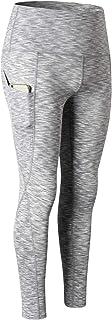 DAVAS Women's High Waist Yoga Pants with Pocket Tummy Control Quick-drying Activewear Leggings Tights