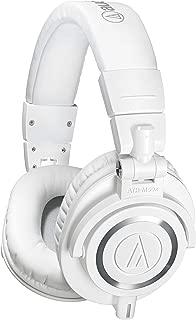 audio-technica オーディオテクニカ プロフェッショナルモニターヘッドホン ATH-M50xWH ホワイト スタジオレコーディング / ミキシング / DJ /トラックメイキング