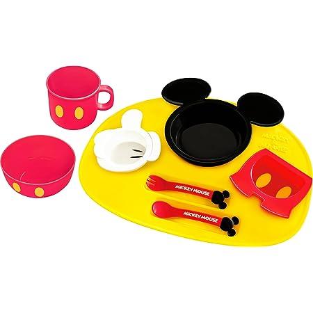 錦化成 ディズニー ミッキーマウス アイコン ベビー食器セット