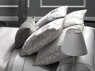 CAÑETE - Cojín VALENZA A 30x50 cm - Color Plata