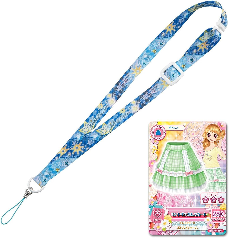 Aikatsu  Eye cutlet phone look strap sparkle star
