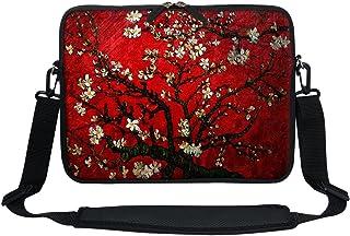 Meffort Inc 13 13.3 Inch Neoprene Laptop/Ultrabook / Chromebook Bag Carrying Sleeve with Hidden Handle and Adjustable Shou...