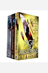 Wounded Kingdom Series 3 Books Collection Set By RJ Barker (Age of Assassins, Blood of Assassins, King of Assassins) Paperback