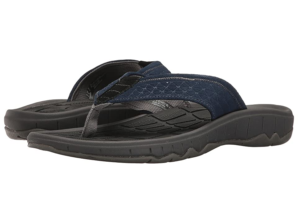 Hush Puppies Mega Breeze (Navy Suede) Men