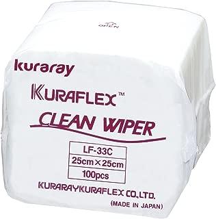 クラレ 不織布ワイパー クリーンワイパー LF33C 100枚×1袋