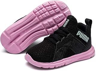 PUMA Unisex-Kids' Enzo Trailblazer AC PS Sneaker, Black-Lilac Sachet