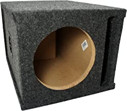 "Car Audio Single 8"" SPL Bass Subwoofer Labyrinth Vent Sub Box Stereo Enclosure"
