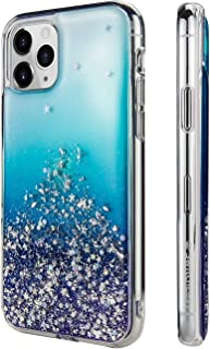 SWITCHEASY iPhone 11 Pro Clear Case - Starfield Luxury Fashion Glitter Hard Case Transparent Clear Shiny Bling Sparkling Protective Cover for Latest iPhone 2019 Released (Crystal, 2019 iPhone 5.8