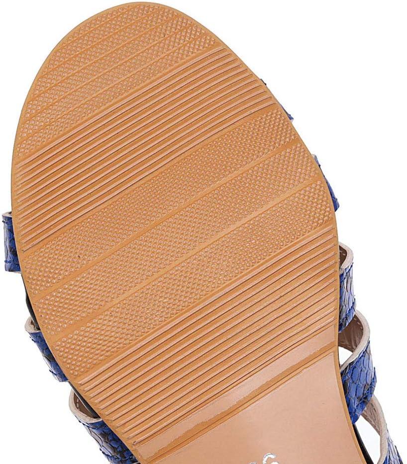 Vrouwen Snake Leopard Print Boho Casual Vintage Romeinse schoenen strand sandalen 01