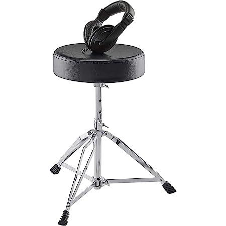Alesisドラムスローンとヘッドホンを含む電子ドラム用アクセサリーセット Drum Essentials Bundle