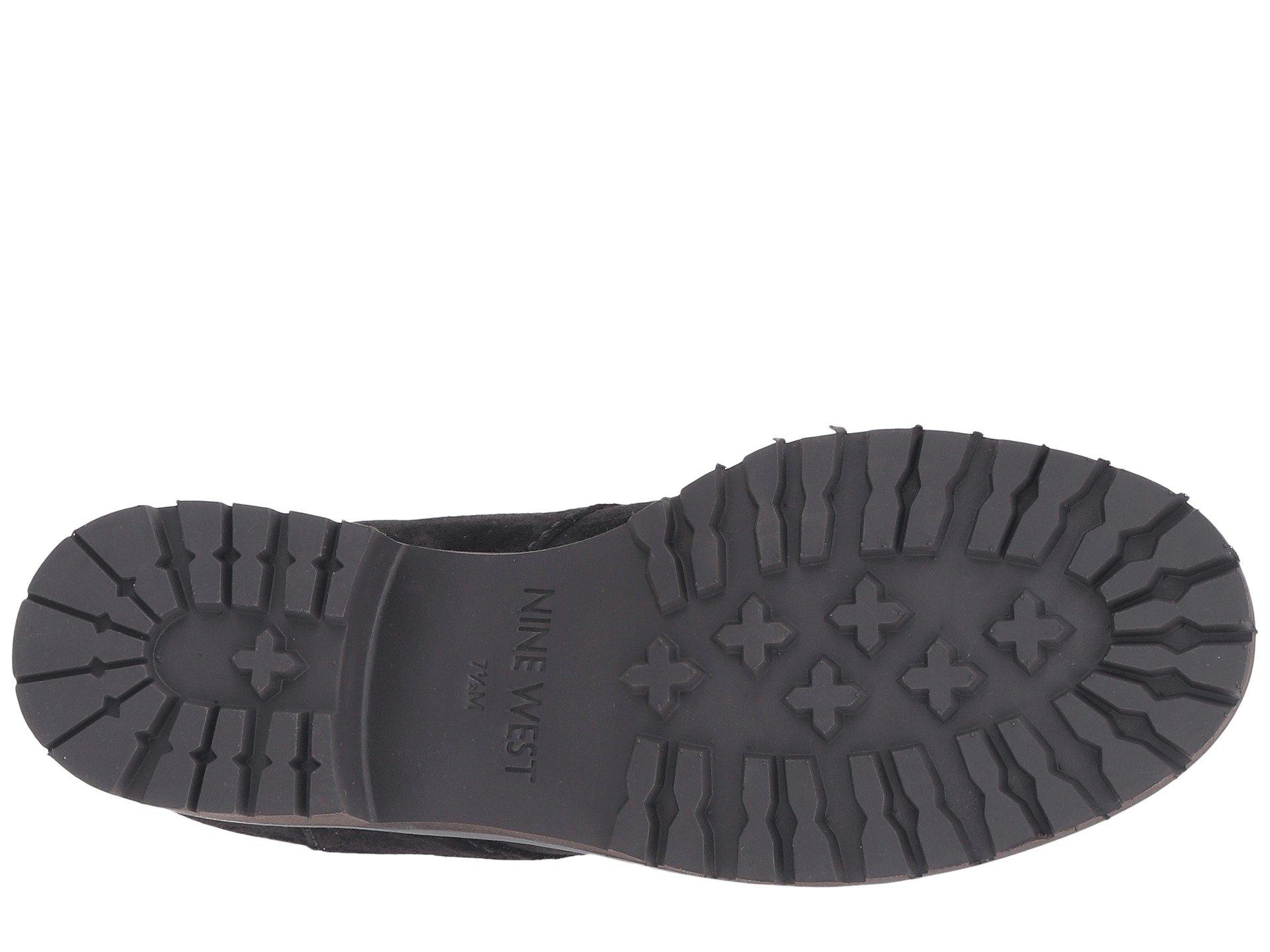 Nine West Mavira Women S Shoes Black Leather  M
