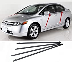 Best honda civic front window seal Reviews