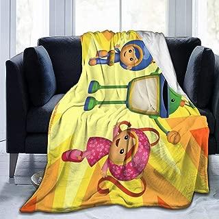 Hugh Jimenez T-ea-m U-mi-zoomi Ultra-Soft Micro Fleece Blanket Throw Super Soft Fuzzy Lightweight Hypoallergenic Plush Bed Couch Living Room 80