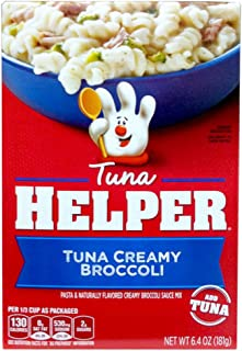 Betty Crocker TUNA CREAMY BROCCOLI Tuna Helper 6.4oz (4 Pack)