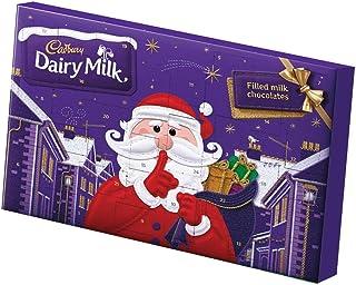 Cadbury Secret Santa Dairy Milk Advent Calendar 200G (Pack of 2)