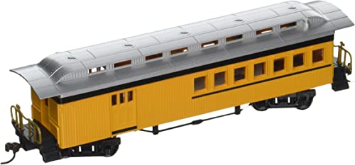 Bachmann Industries 1860 80 mbinieren Painted Unletterot Auto, Gelb, HO Ma ab