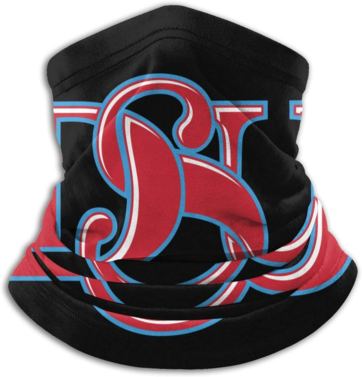 Delaware-State-University Logo Unisex Comfort Microfiber Neck Gaiter Variety Scarf Face Motorcycle Cycling Riding Running Headbands.