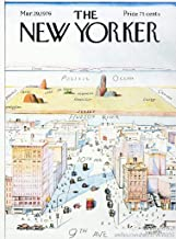 USWay 140524 The New Yorker Cover Famous Illustration Decor Wall 32x24 Poster Print