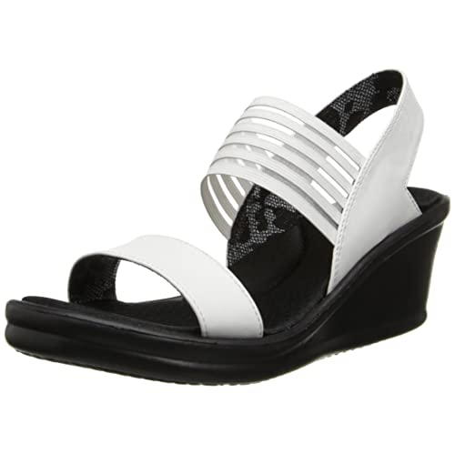 where to buy best selling the best Skechers Wedge Sandals: Amazon.co.uk