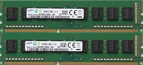 Samsung original 8GB kit, (2 x 4GB) 240-pin DIMM, DDR3 PC3-12800, desktop memory module
