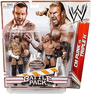 WWE Series 18 Battle Pack: CM Punk vs Triple H Figure, 2-Pack