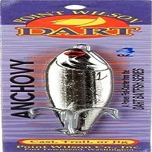 Point Wilson Dart Anchovy Jig, 4-Ounce, Nickel