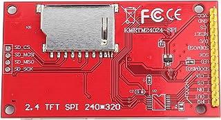 Módulo de pantalla compatible, ranura para tarjeta de memoria 5 V/3,3 V, 240 x 320 LCD, módulo de plástico