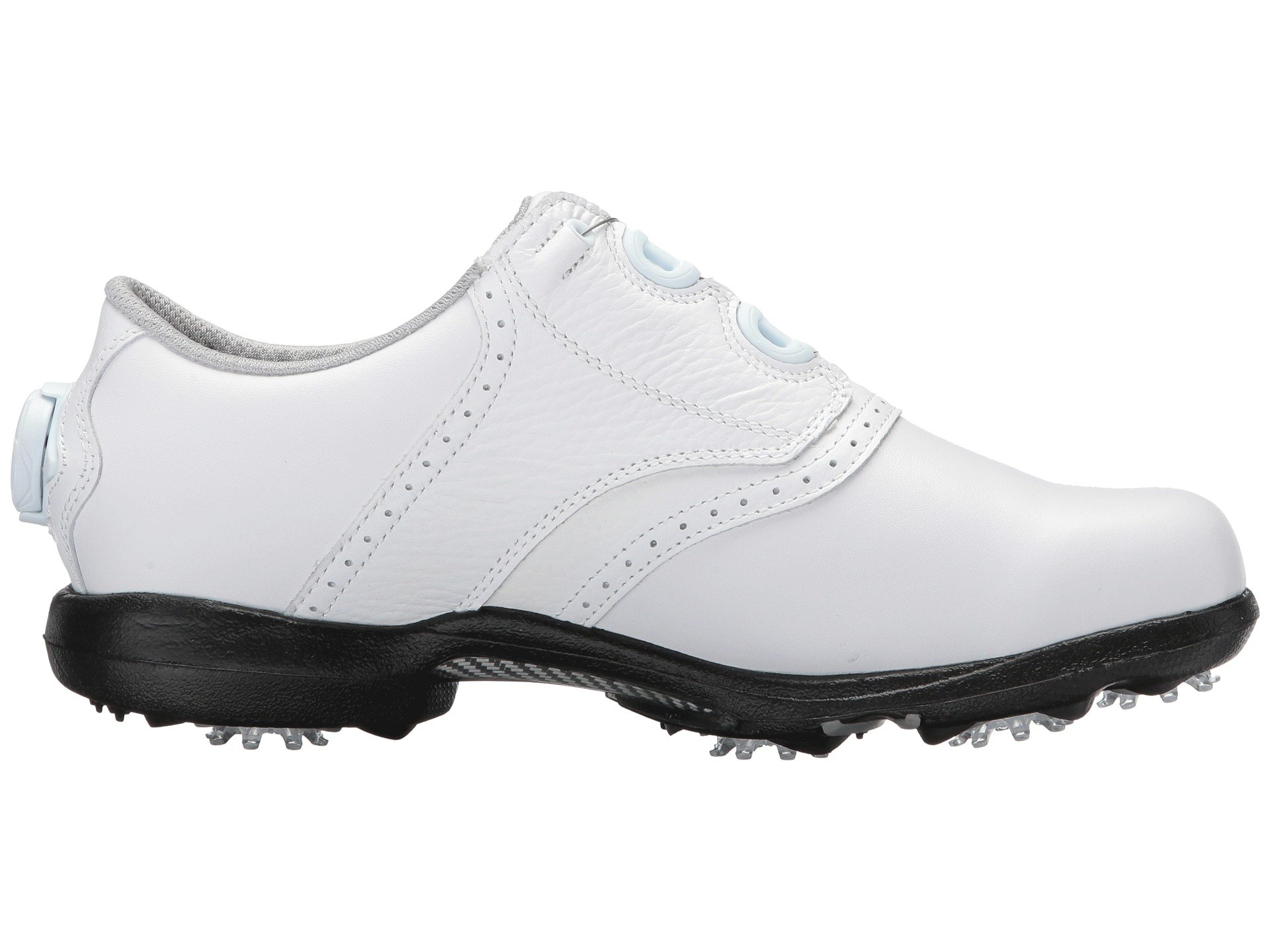 White Boa Traditional Cleated Blucher All Dryjoys Saddle Footjoy Over n8TqtEwfvx