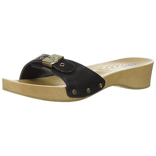 93b4427a968f Dr. Scholl s Shoes Women s Classic Slide Sandal
