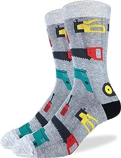 Men's Tools Socks - Grey, Adult Shoe Size 7-12