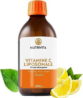 Vitamina C Liposomal | Dosificación Potente y Máxima Absorción | Formulado con Vitamina C Quali®-C | Fabricado en el Reino Unido | Botella