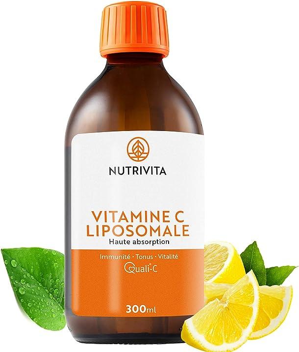 Vitamina c liposomiale 1000 mg | dosaggio potente & alta biodisponibilità | nutrivita B079QZVX1K
