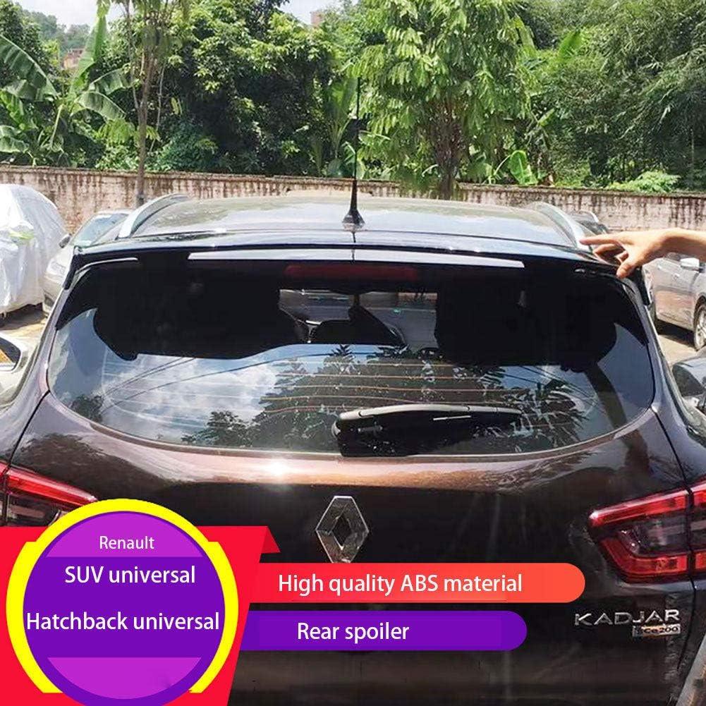 Lsybb Abs Heckspoiler Heckflügel Änderung Für Renault Clio Captur Espace Kadjar Auto Universal Punch Feste Installation Black Auto