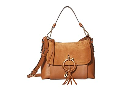 See by Chloe Joan Small Satchel (Caramello) Satchel Handbags